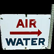 Gas Station Sign Porcelain Service Station Sign Automotive