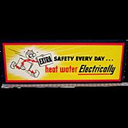 Reddy Kilowatt Advertising Sign