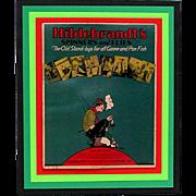 Hildebrandt's Advertising Fishing  Sign  69/150  LB  20  16  1  2#