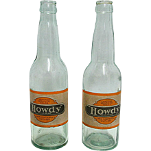 Howdy Soda Bottle Circa 1920