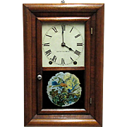 Miniature Seth Thomas 8 day Chiming Wall Clock