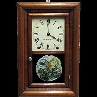 Miniature Seth Thomas 8 day Chiming Wall Clock