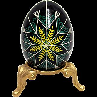 Old World Easter Egg  Polish Folk Art
