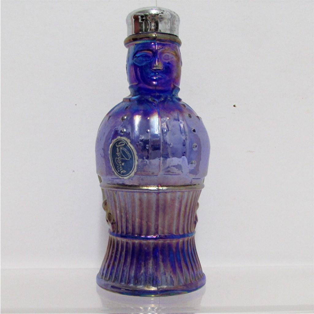 SOLD Johnny Bull Iridescent Glass Shaker