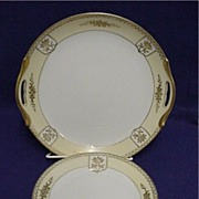 Cake Set Service for 6 Noritake Porcelain