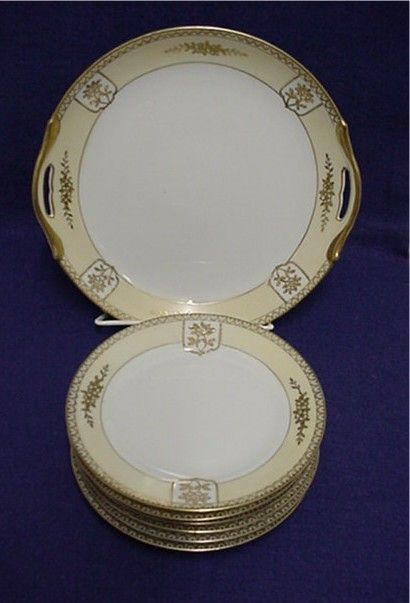 Cake Set Service for 6 Noritake Porcelain  ***Selling at Cost