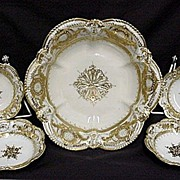 Berry Set Nippon White and Gold Complete Set