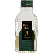 Italian Balm Campana Corp  Drugstore or Pharmacy Lotion Bottle