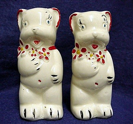 Bear Shakers Salt and Pepper Set by American Bisque Co