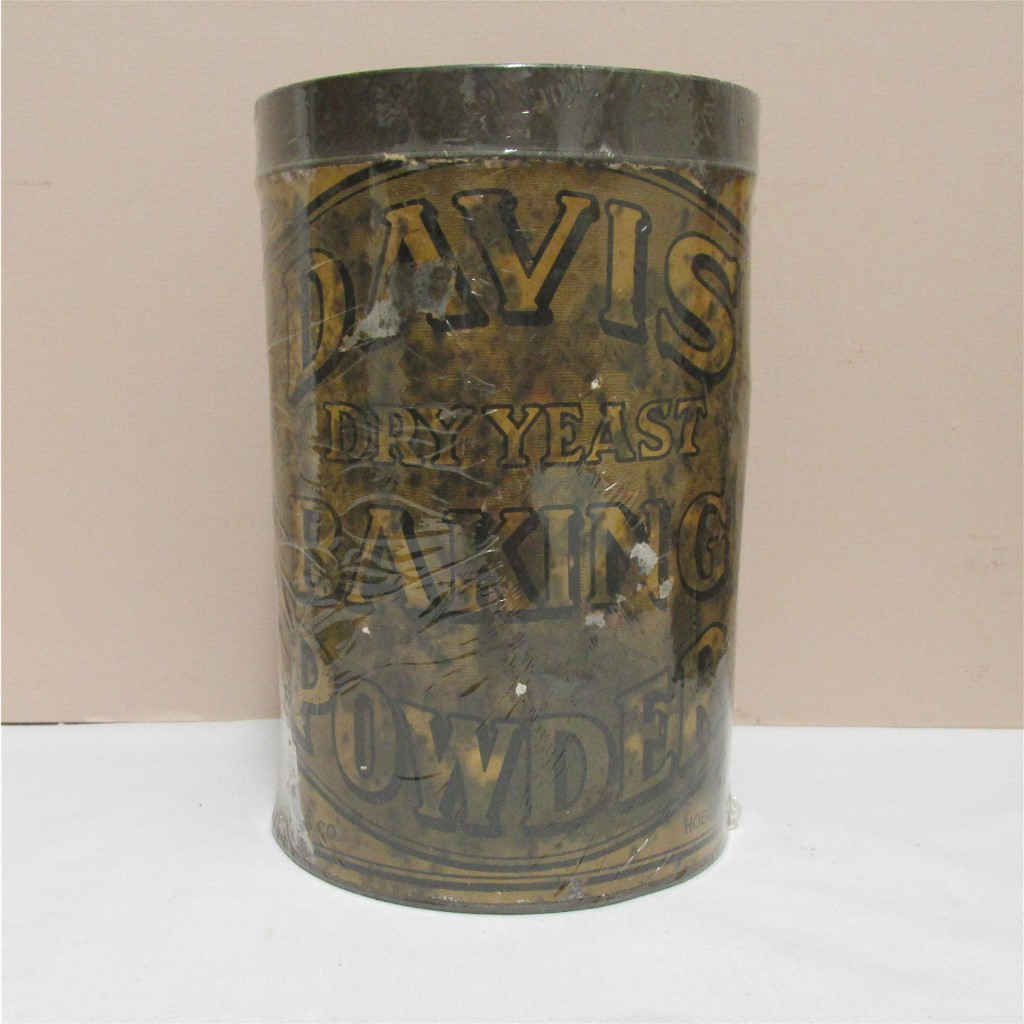 Davis Baking Powder Tin