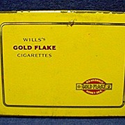 Will's Gold Flake Cigarette Pocket Advertising Tin