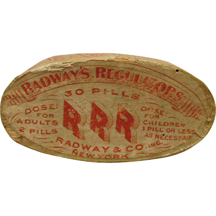 Radways Regulator Pill Tin