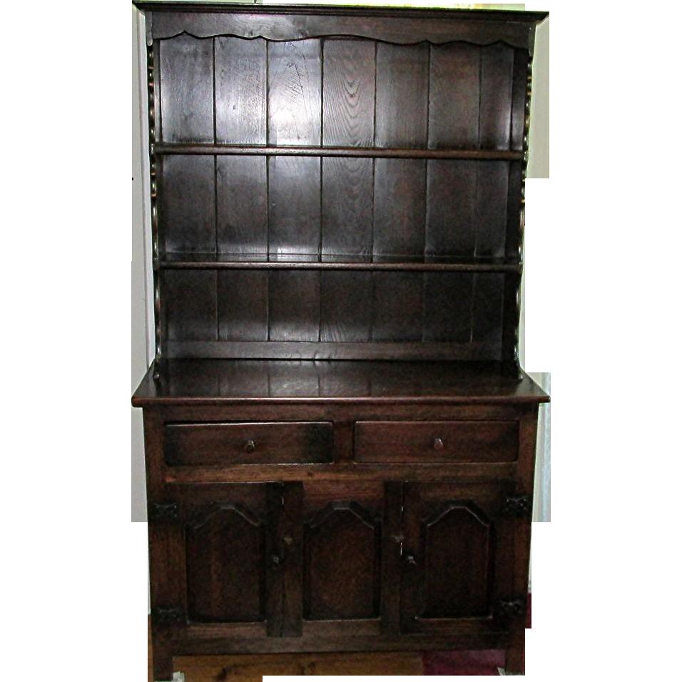 Welsh Cupboard 19th Century Oak