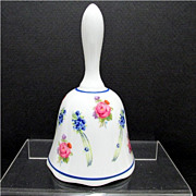 Dinner Bell Reutter German Porcelain