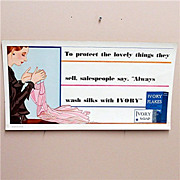 Ivory Soap Advertising Sign 50% Off