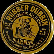 Rubber Dubbin  Buffalo NY Advertising Tin