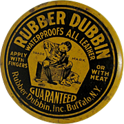 Rubber Dubbin  Buffalo NY Advertising Tin