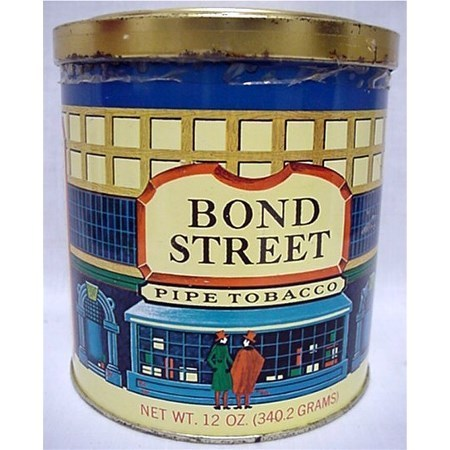 Bond Street Advertising Tobacco Tin
