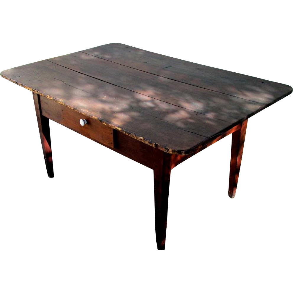 American Peg Top Table Circa 1850