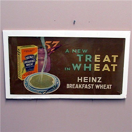 Heinz Cereal Lithograph Advertising Sign 50% OFF