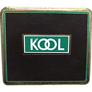 KOOL Cigarette Flat  Advertising Tobacco Tin