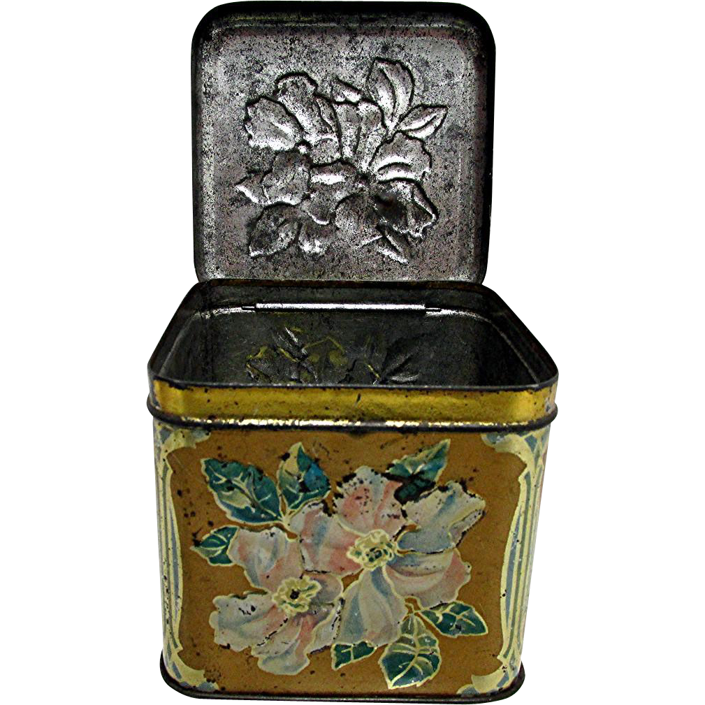 Epicure Advertising Tobacco Tin