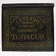 Applebys Advertising Tobacco Tin