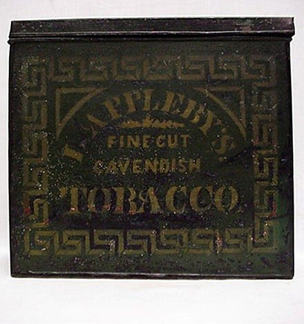 Applebys Advertising Tobacco Tin