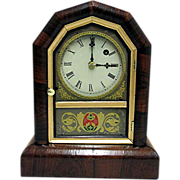 Antique Gilbert Mantel Clock 100% Original Fully Restored