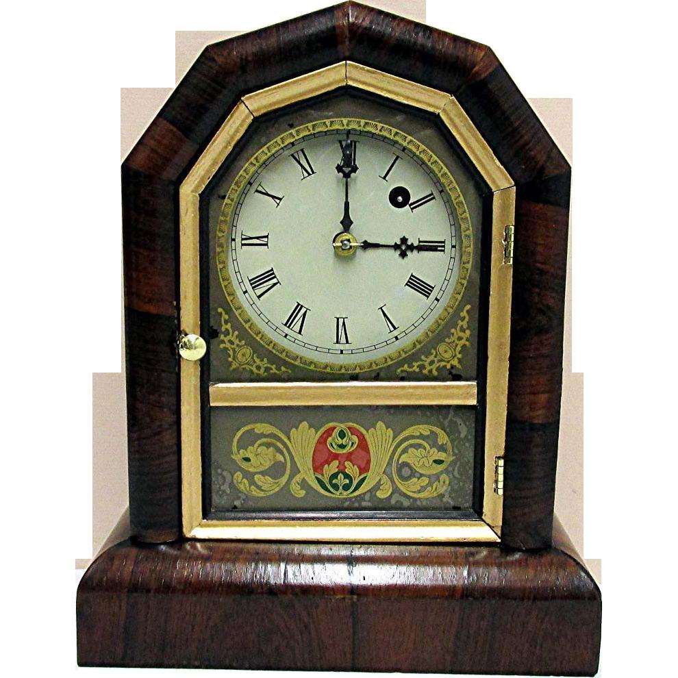 Antique Gilbert Mantel Clock 100% Original Fully Restored
