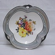 Noritake Lusterware Serving Dish or Bowl Club Shaped