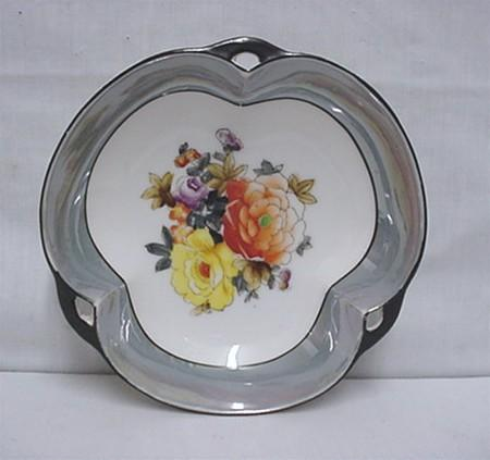 Noritake Certified Mark Lusterware Serving Dish or Bowl Club Shaped