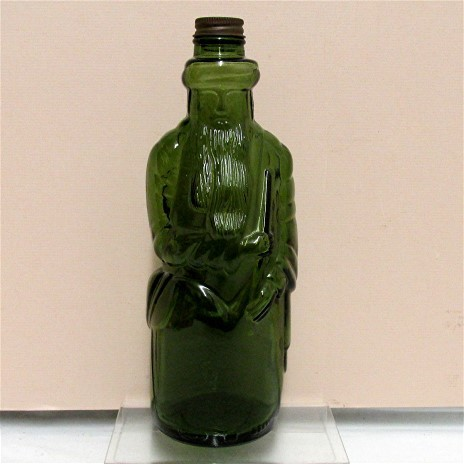 Figural Moses  Bottle