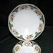 Ice Cream Set Austrian Porcelain Service for Four