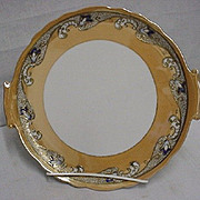 Cake Set Noritake Porcelain Luster Art Nouveau  ***Selling at Cost
