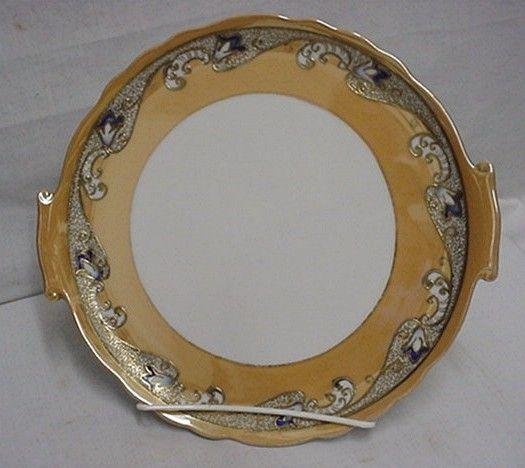 Cake Set Noritake Porcelain Luster Art Nouveau  ***Selling at Cost