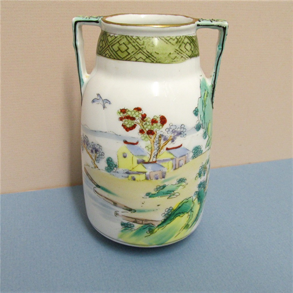 Vase Nippon Porcelain Hand Painted