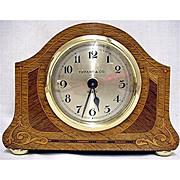 Inlaid Desk Clock  Retailed by Tiffany