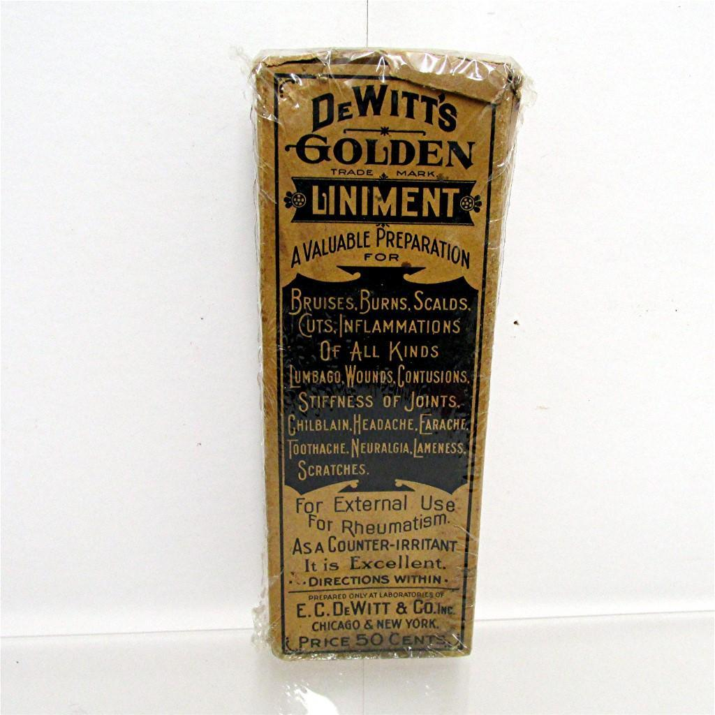 Unopened DeWitts Golden Liniment