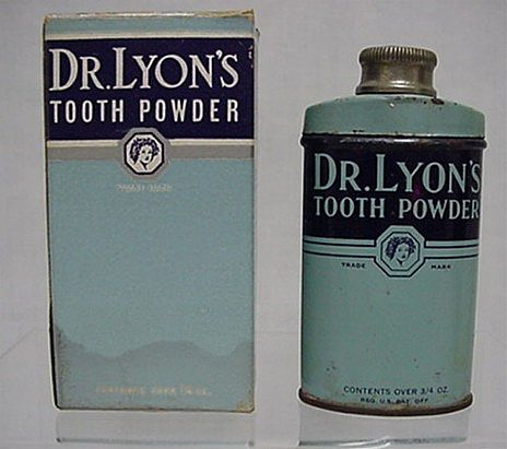 Dr. Lyons Tooth Powder in Original Box