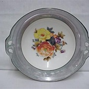 Noritake Serving Dish or Bowl in Grey Luster