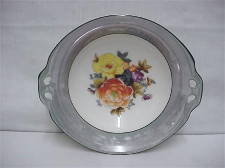 Noritake Certified Mark Serving Dish or Bowl in Grey Luster