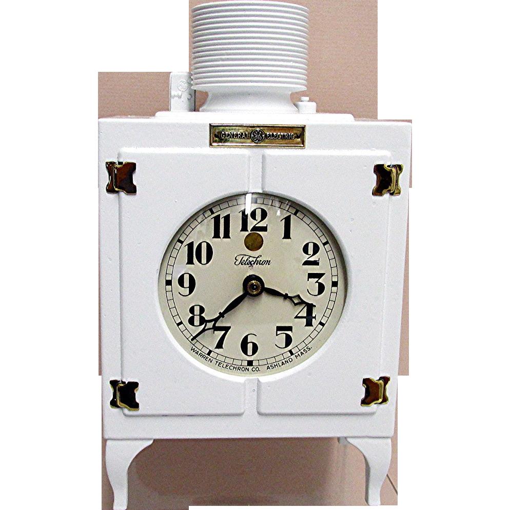 General Electric Refrigerator Clock Advertising Clock