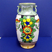 Vase Art Deco Luster Ware Japanese Lusterware    ***Selling at Cost