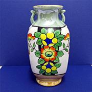 Vase Art Deco Luster Ware Japanese Lusterware