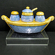 Luster Condiment Set Lusterware Gondola   ***Selling at Cost