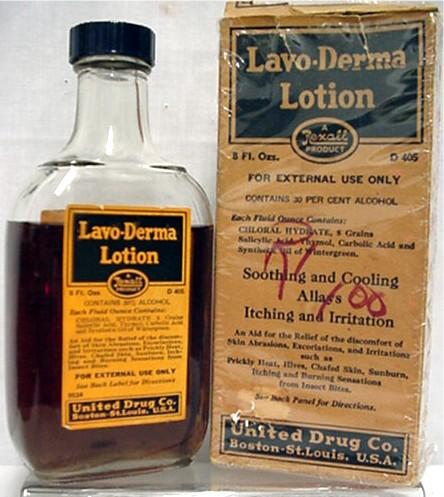 Lavo-Derma Lotion by Rexall Unopened Pharmacy or Drugstore Item