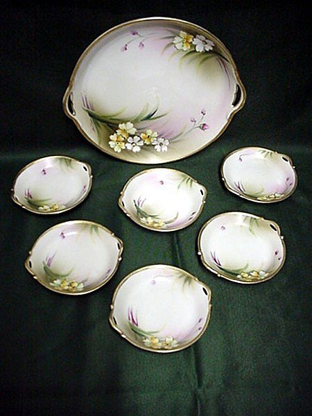 Nippon Porcelain Butter Set