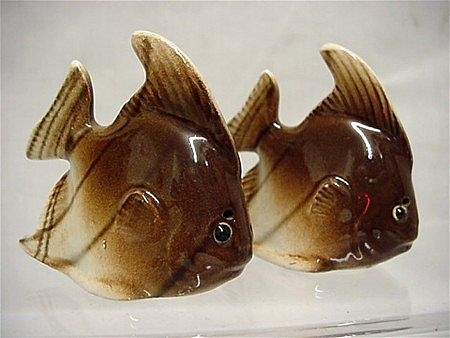 Salt and Pepper Set Fish Shakers