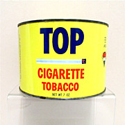 TOP Cigarette Advertising Tobacco Tin